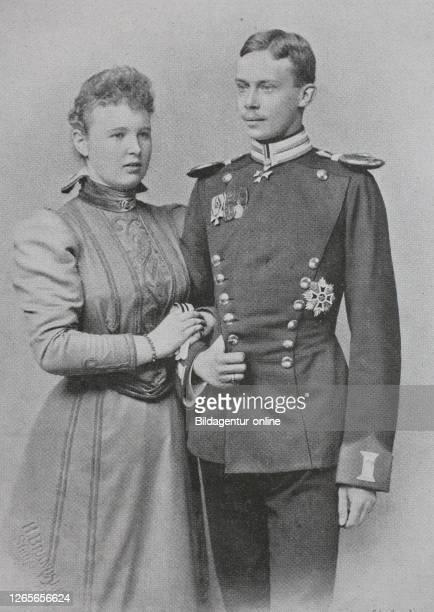 Digital improved reproduction, Wilhelm Friedrich Hermann Otto Karl, Fürst zu Wied, also Friedrich Fürst zu Wied, 1872 - 1945, and Pauline Olga Helene...