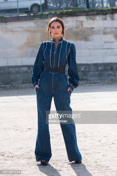Digital influencer and model Heloise Agostinelli wears all Dior on February 25 2020 in Paris France