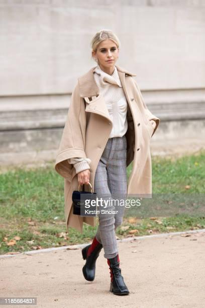 Digital influencer Caroline Daur wears all Chloe on September 26 2019 in Paris France