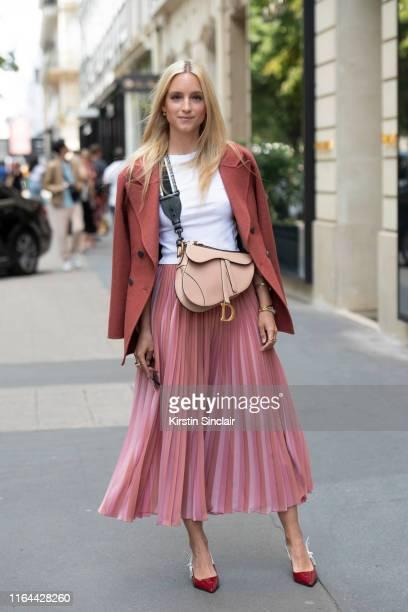 Digital influencerCharlotte Groeneveld wears all Dior on July 01, 2019 in Paris, France.