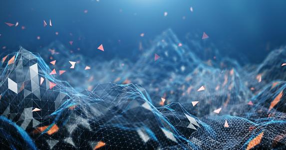 Digital Landscape (Blue) 1146014337