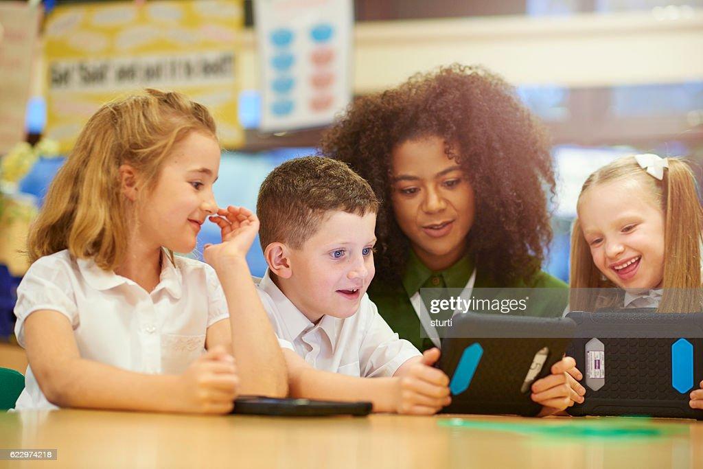 digital learning : Stock Photo