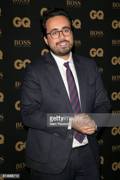 Digital Man of the Year Mounir Mahjoubi attends the 'GQ Men of the year awards 2017' at Le Trianon on November 15 2017 in Paris France