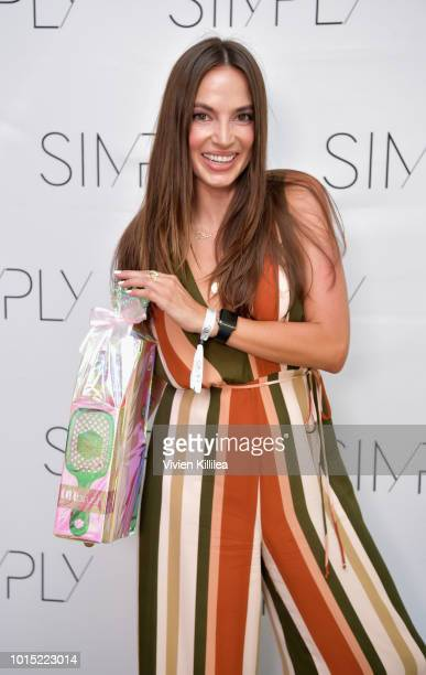 Digital Marketing Specialist Katie Rattray attends the SIMPLY LA Fashion Beauty Conference Powered By WhoWhatWear at The Americana at Brand on August...