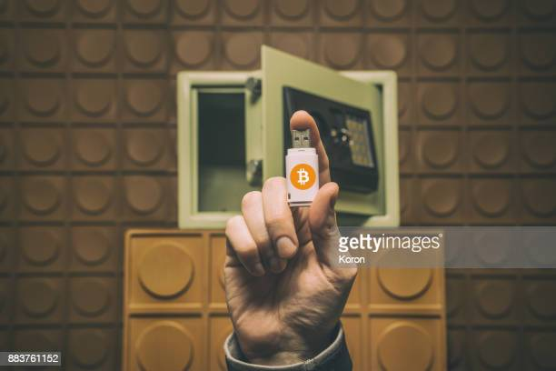 digital money concept, future of money, digital currency, bitcoin - cryptocurrency stock photos and pictures