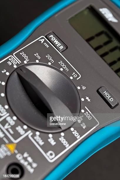 Digitales multimeter volt große elektronische instrument