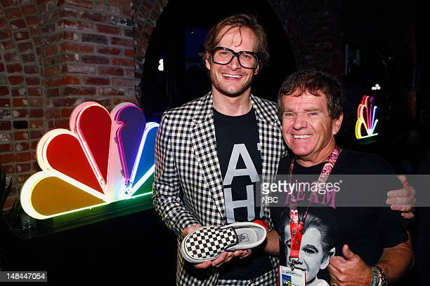EVENTS NBC Digital Network ComicCon Party Pictured Bryan Fuller Butch Patrick