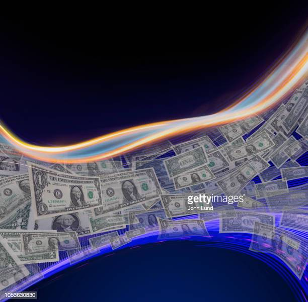 digital networked money transfer - money transfer stock pictures, royalty-free photos & images
