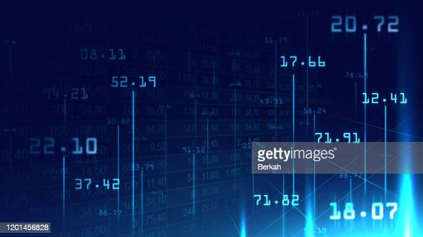 digital numbers background in graphic concept - number stock pictures, royalty-free photos & images