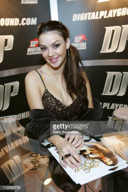 Digital Playground's Sophia Santi during 2006 AVN Adult Entertainment Expo at Sand Expo Center in Las Vegas Nevada United States