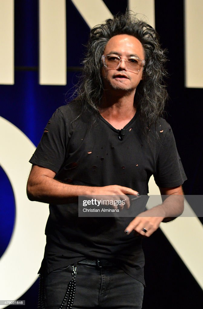 Digital Prophet David Shing attends the AOL seminar as part of the 2015 Cannes Lions International Festival of Creativity on June 27, 2015 in Cannes, France.