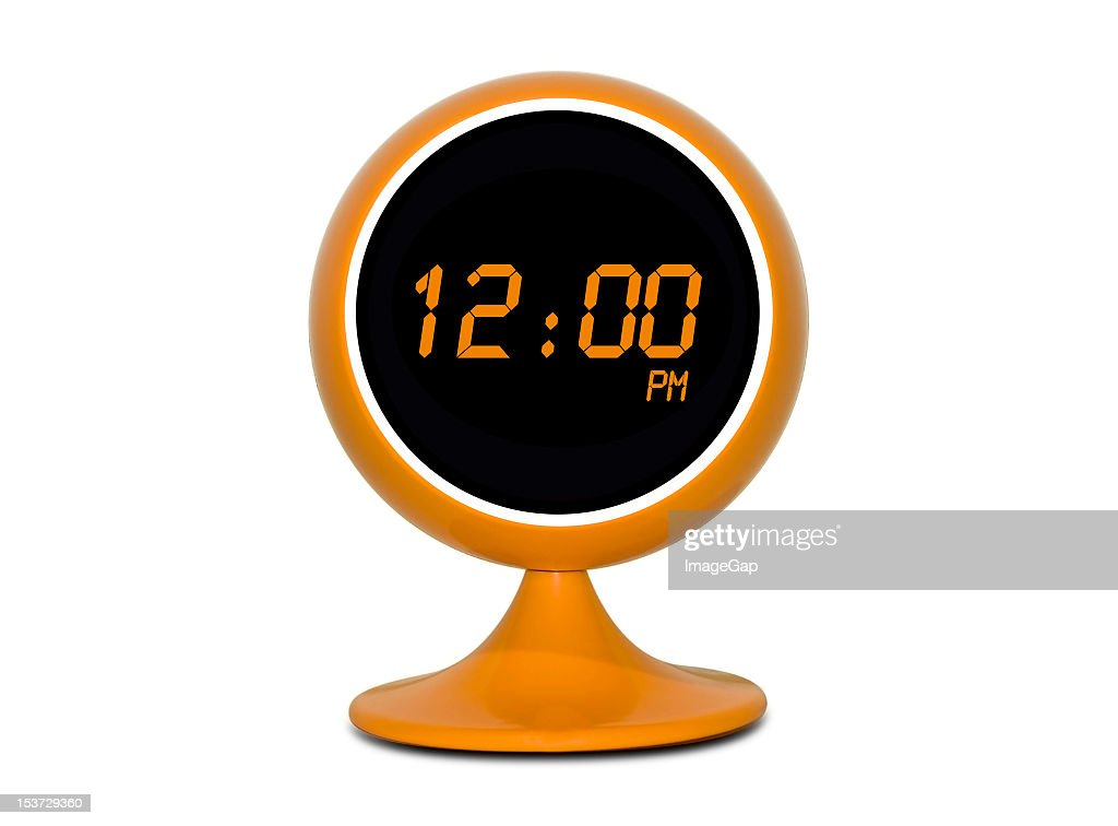 Digital Retro Clock : Stock Photo