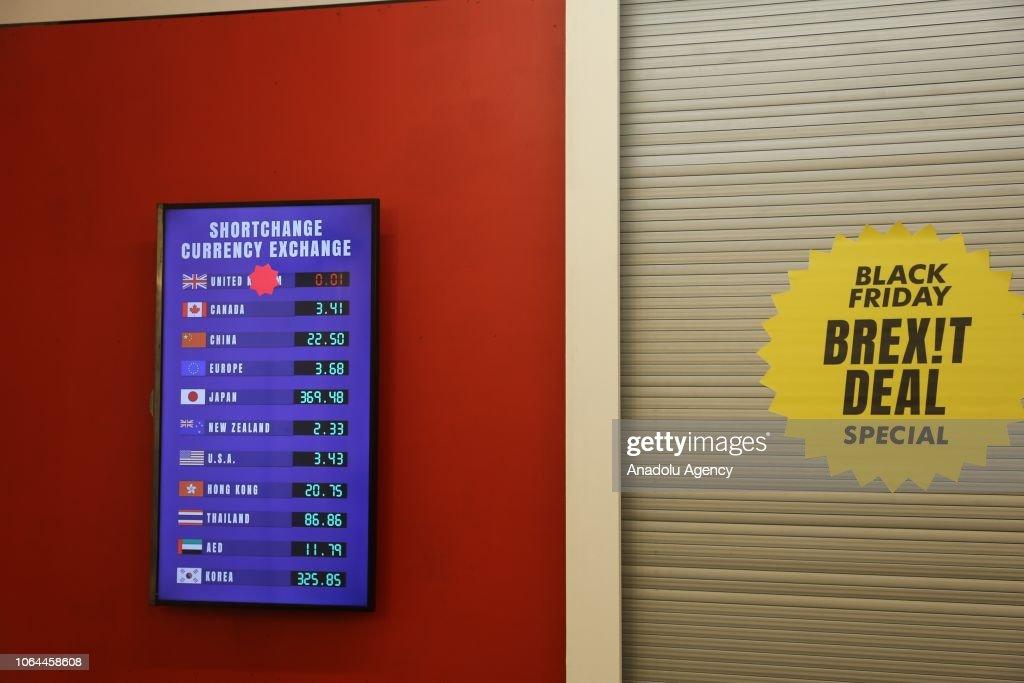 A Digital Screen Displays Mock Currency
