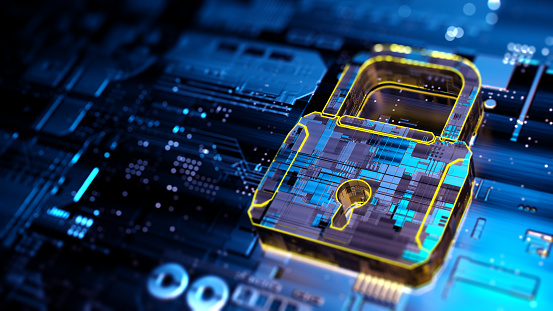 Digital security concept 1185245180