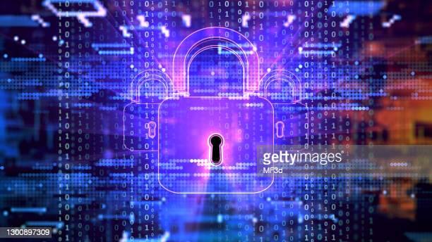 デジタルセキュリティの概念 - 防犯システム ストックフォトと画像