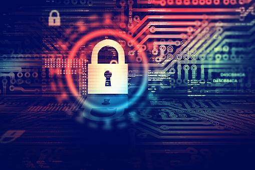 Digital security concept 622184706