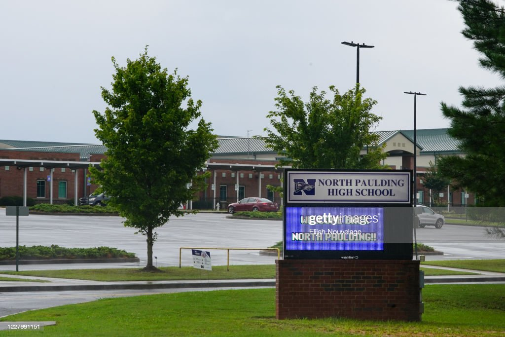 Georgia High School To Close For Two Days After Nine Test Positive For Coronavirus In First Week : News Photo