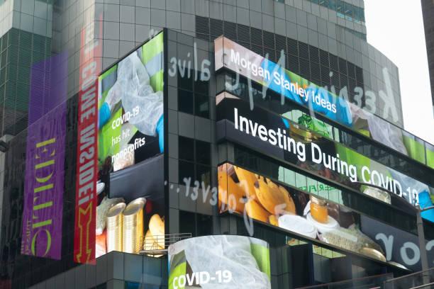 NY: Morgan Stanley Headquarters Ahead Of Earnings Figures