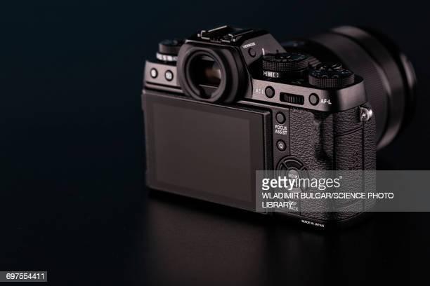 Digital slr camera, studio shot