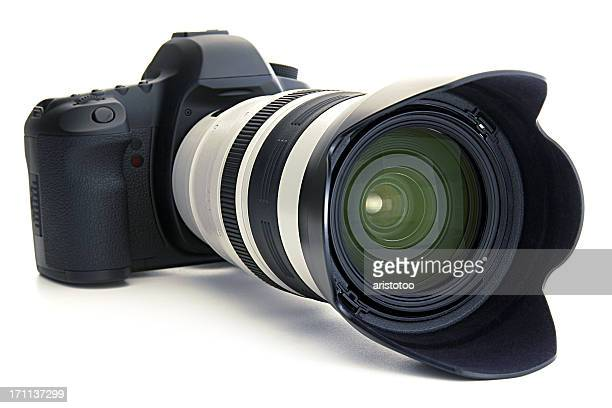Digital SLR Camera & Telephoto Lens