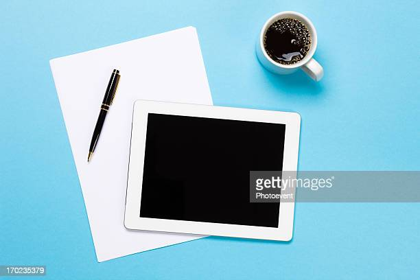 Digital Tablet On Desk
