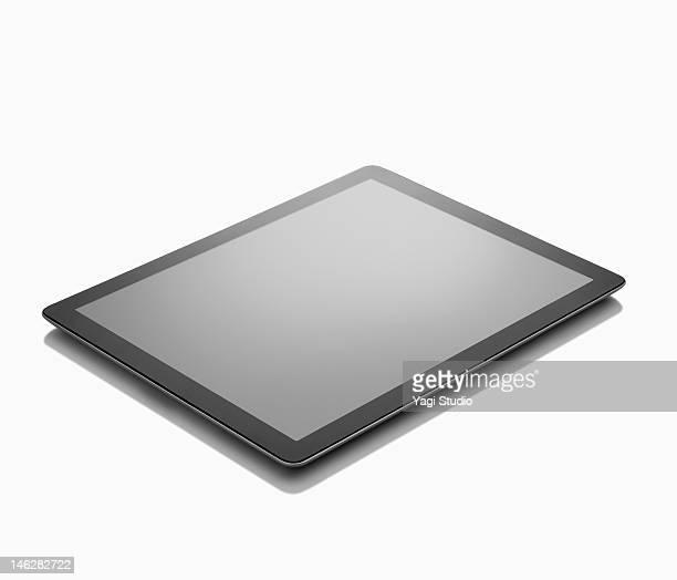 Digital tablet on White background