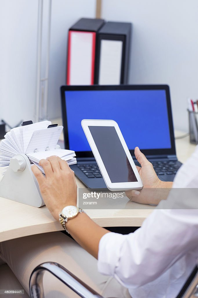Digital tablet : Stock Photo