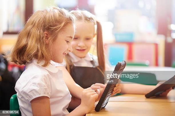digital tablets in class