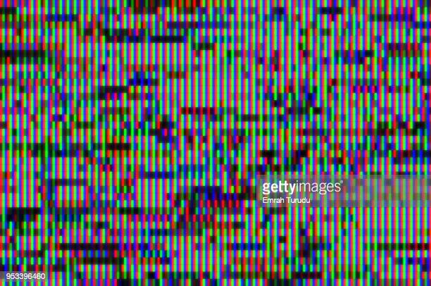 digital television glitch pattern - error message stock pictures, royalty-free photos & images