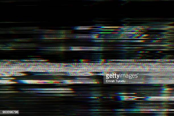 Digital television glitch pattern