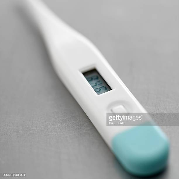 Digital thermometer, close up