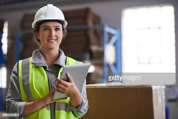 digital tracking for shipping ease - work helmet stock pictures, royalty-free photos & images
