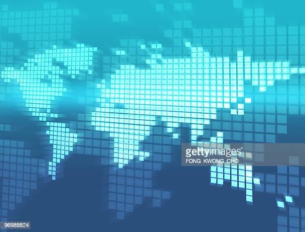 Digitalen Welt Karte 02