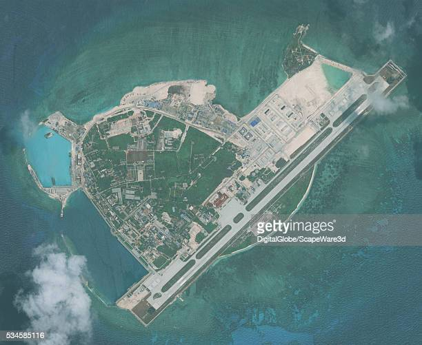 DigitalGlobe imagery from 26 April 2016 of Woody Island in the South China Sea The Island has been under the control of the People's Republic of...