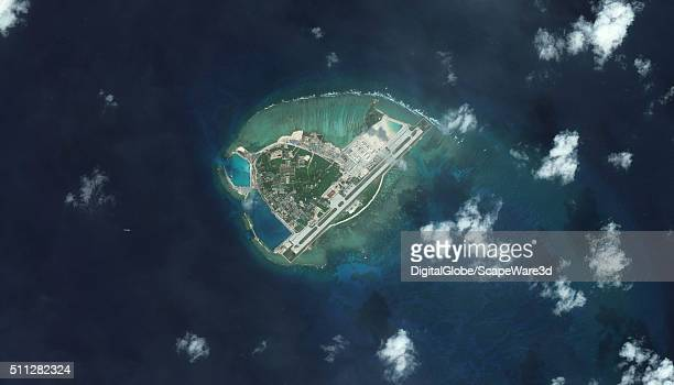 DigitalGlobe overview imagery from 09 January 2016 of Woody Island Woody Island is also known as Yongxing Island and Phu Lam Island and is the...