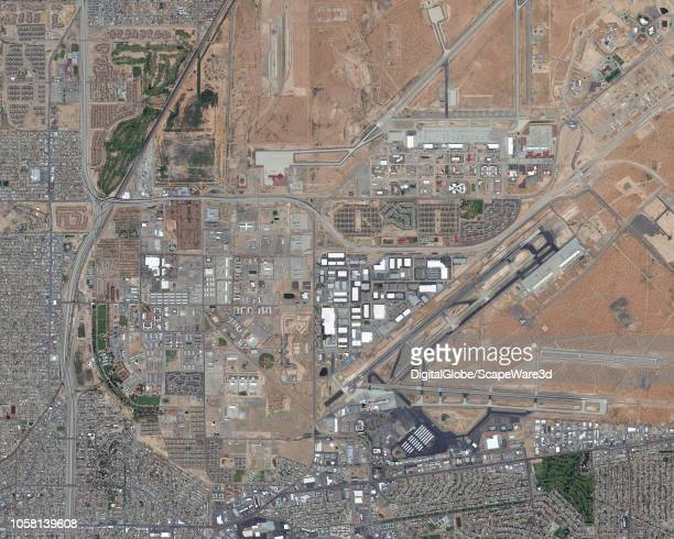 DigitalGlobe via Getty Images overview imagery of Fort Bliss in Elpaso TX