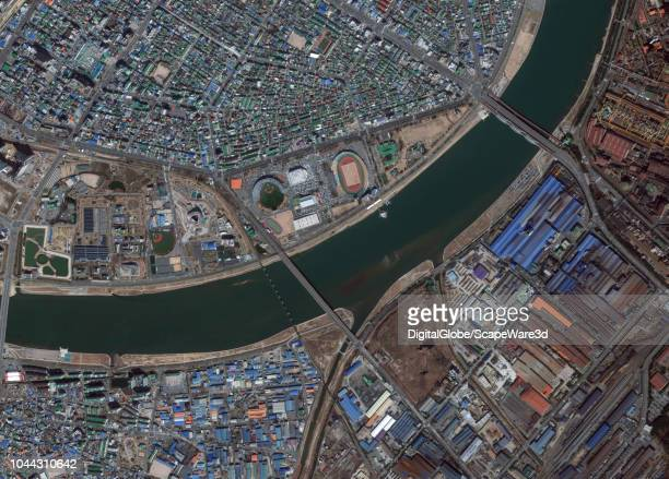 DigitalGlobe via Getty Images overview imagery of Pohung South Korea Photo DigitalGlobe via Getty Images via Getty Images