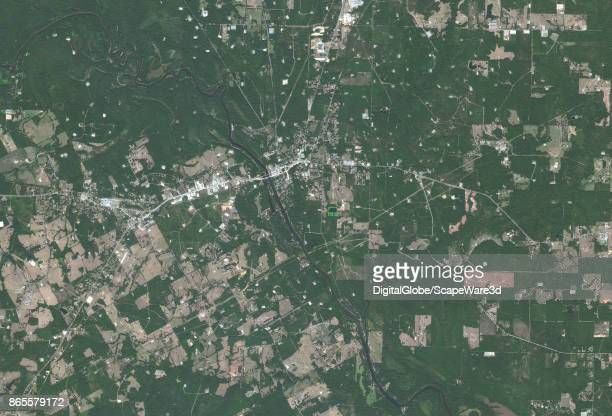 BASIN LOGANSPORT TEXAS OCTOBER 15 2015 DigitalGlobe's Satellite imagery of the Permian Basin in and around Logansport Texas