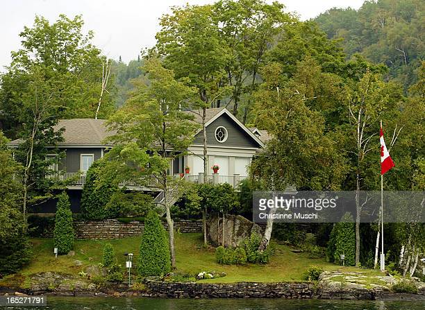 Jean Chretien's summer home in Lac des Piles just outside of Shawinigan. .