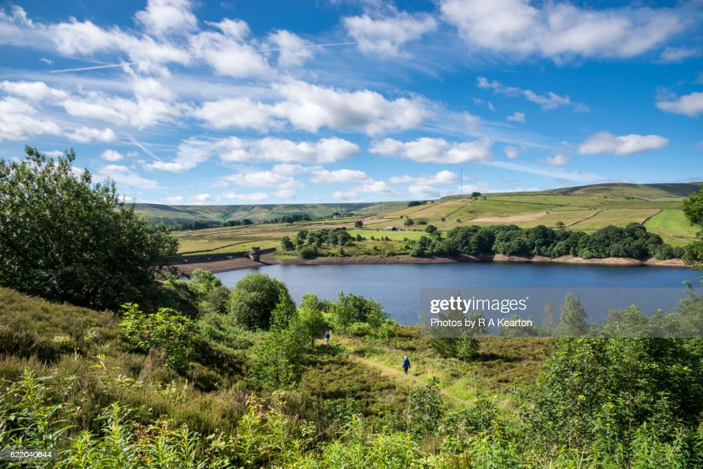 Digley reservoir, Holme, West yorkshire, England : Stock Photo