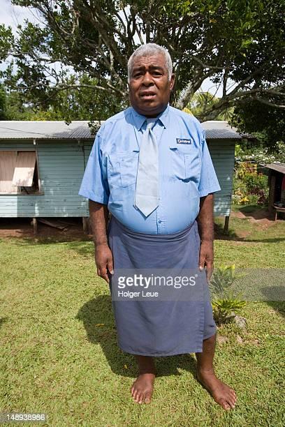Dignified village elder.