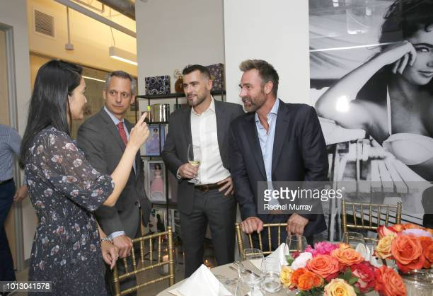 MD Dignity Health Southern California Nicholas Testa Ben Casta and CEO/CoFounder of Prosearch Strategies Trevor Allen attend the House of Taylor...