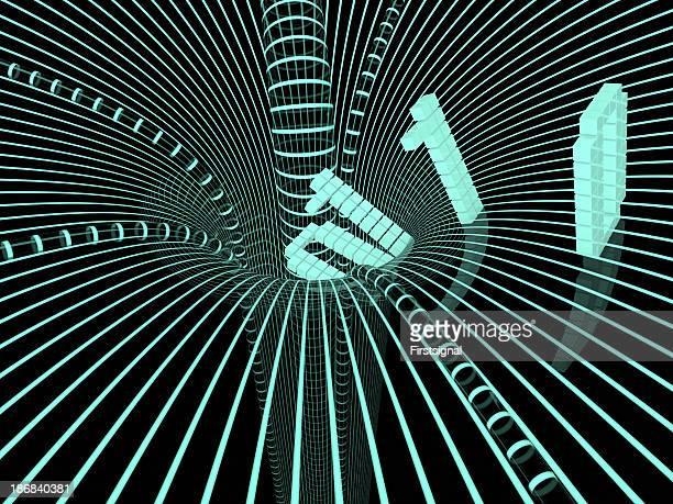 digtal black hole eating data