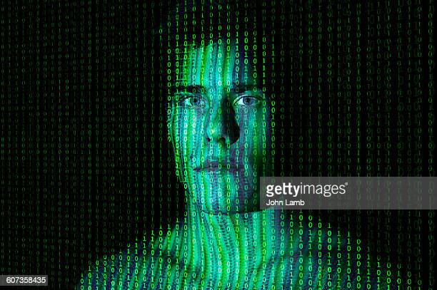 digtal identity - binary code stock pictures, royalty-free photos & images