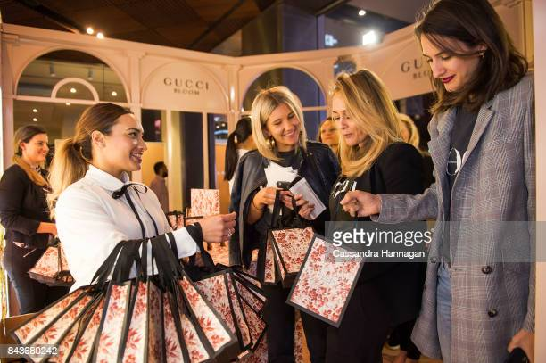 Dijana Savor Mandy Alex and Arquette Cooke during Vogue American Express Fashion's Night Out 2017 on September 7 2017 in Sydney Australia