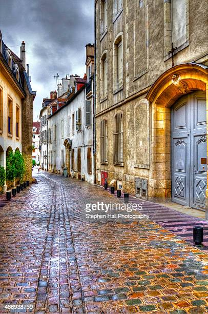 HDR Dijon, France, narrow street