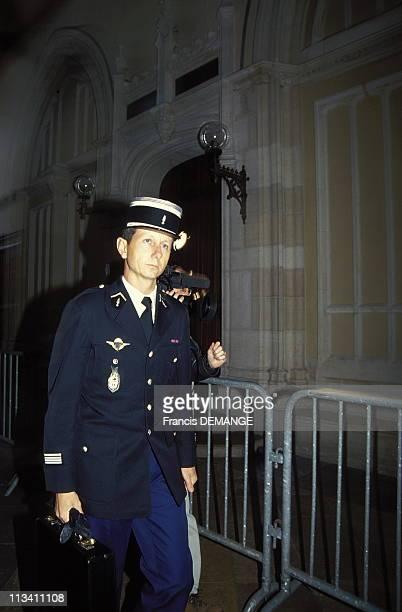 Dijon Short Appearance Of Christine Villemin On November 22th1993