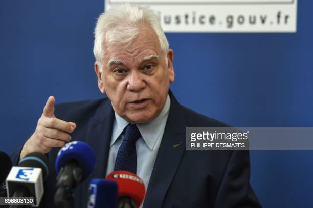 Dijon's general prosecutor JeanJacques Bosc gives a press conference in Dijon on June 16 on the case of the 1984 killing of the fouryearold Gregory...