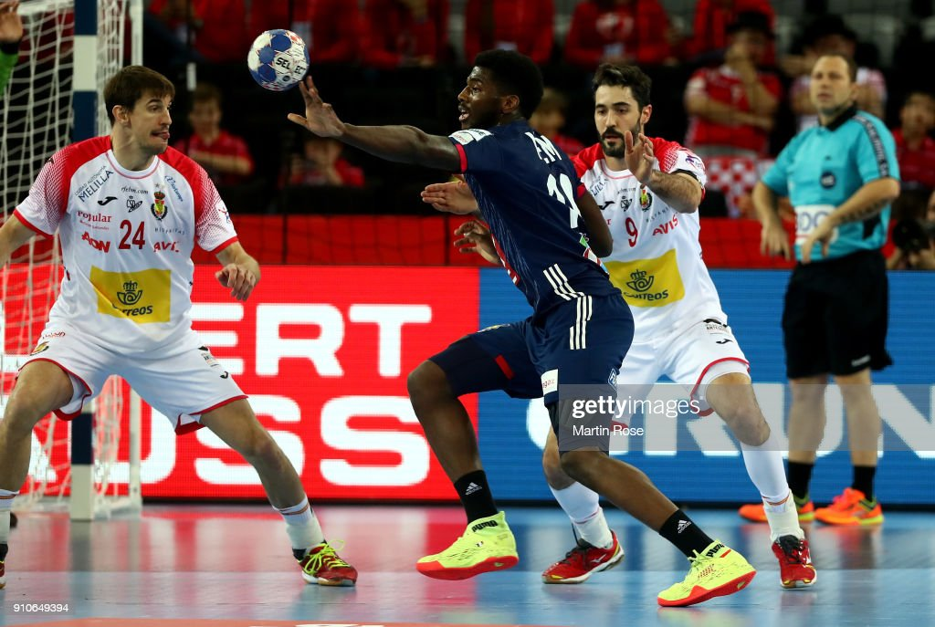 France v Spain - EHF Euro Croatia 2018 Semi Final