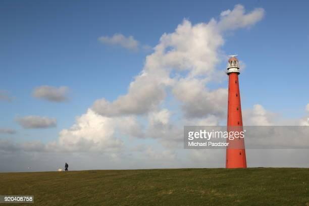 dike at lighthouse Lange Jaap